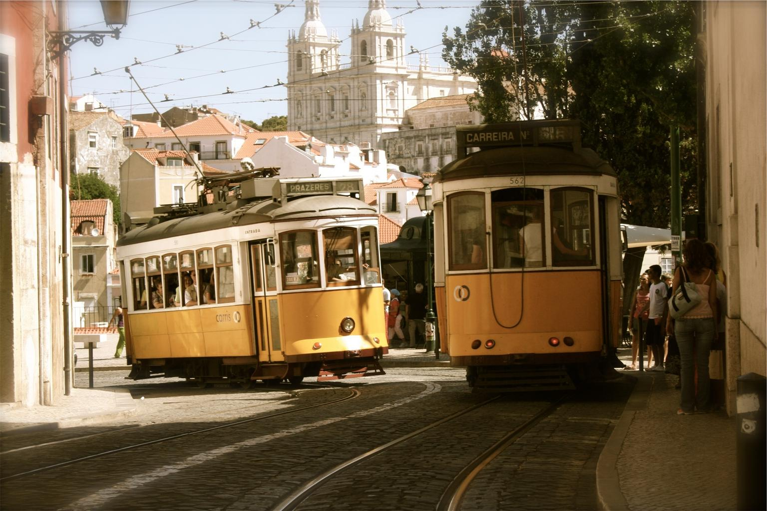 Free Images - cable cars transportation street