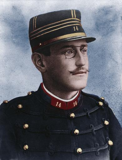 Portriat of Captain Alfred Dreyfus