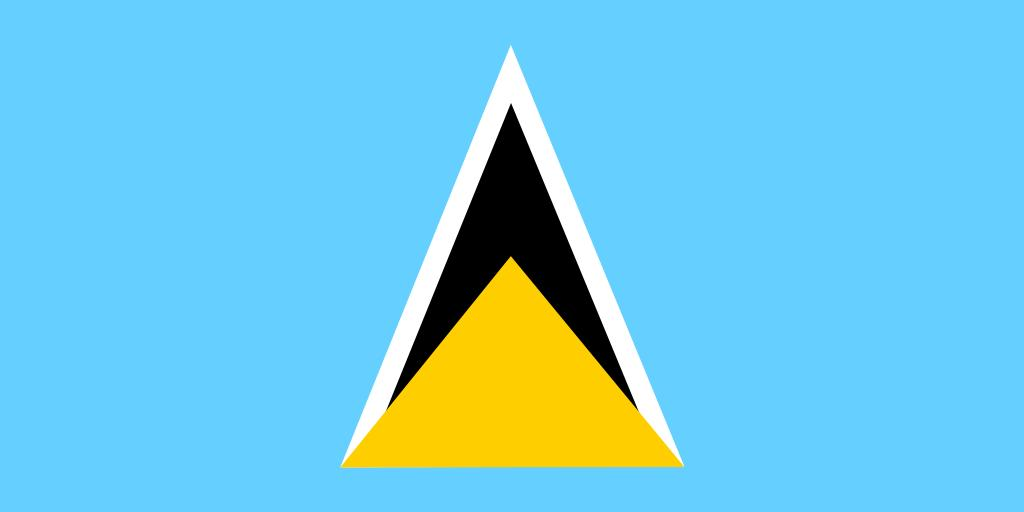 Free Images Saint Lucia Flag National 0