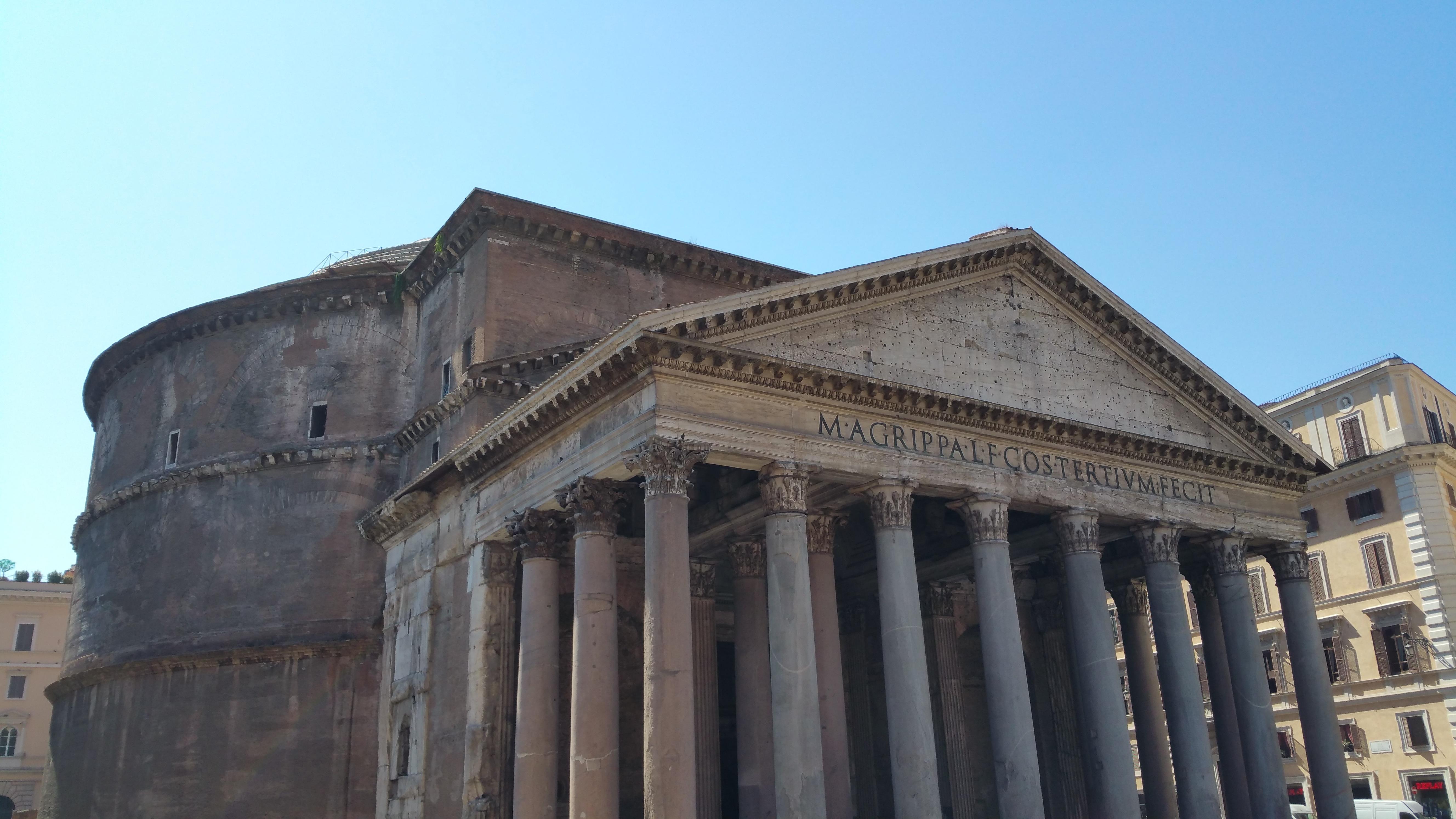 Free images rome pantheon historic antique - Cuisine de la rome antique ...