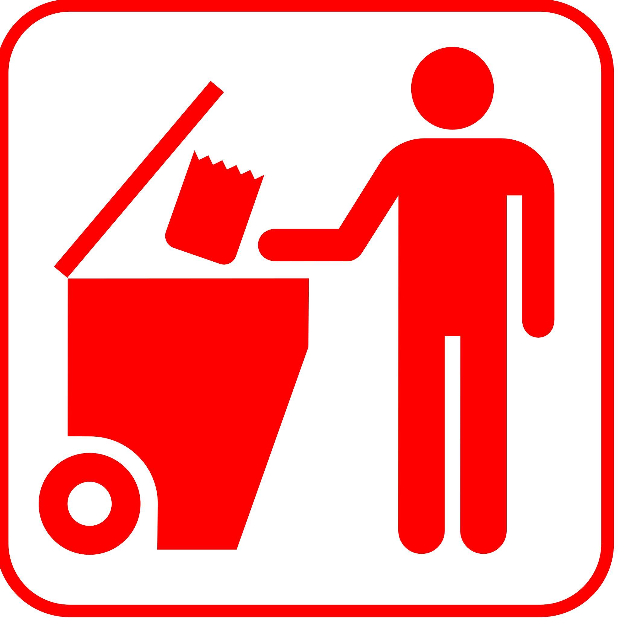 зависимости картинки значка мусора организации