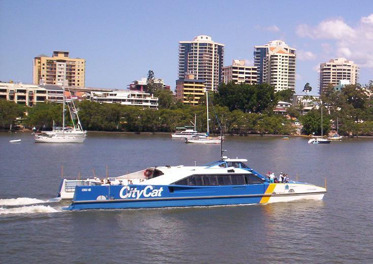 Brisbane Boats and Ferries