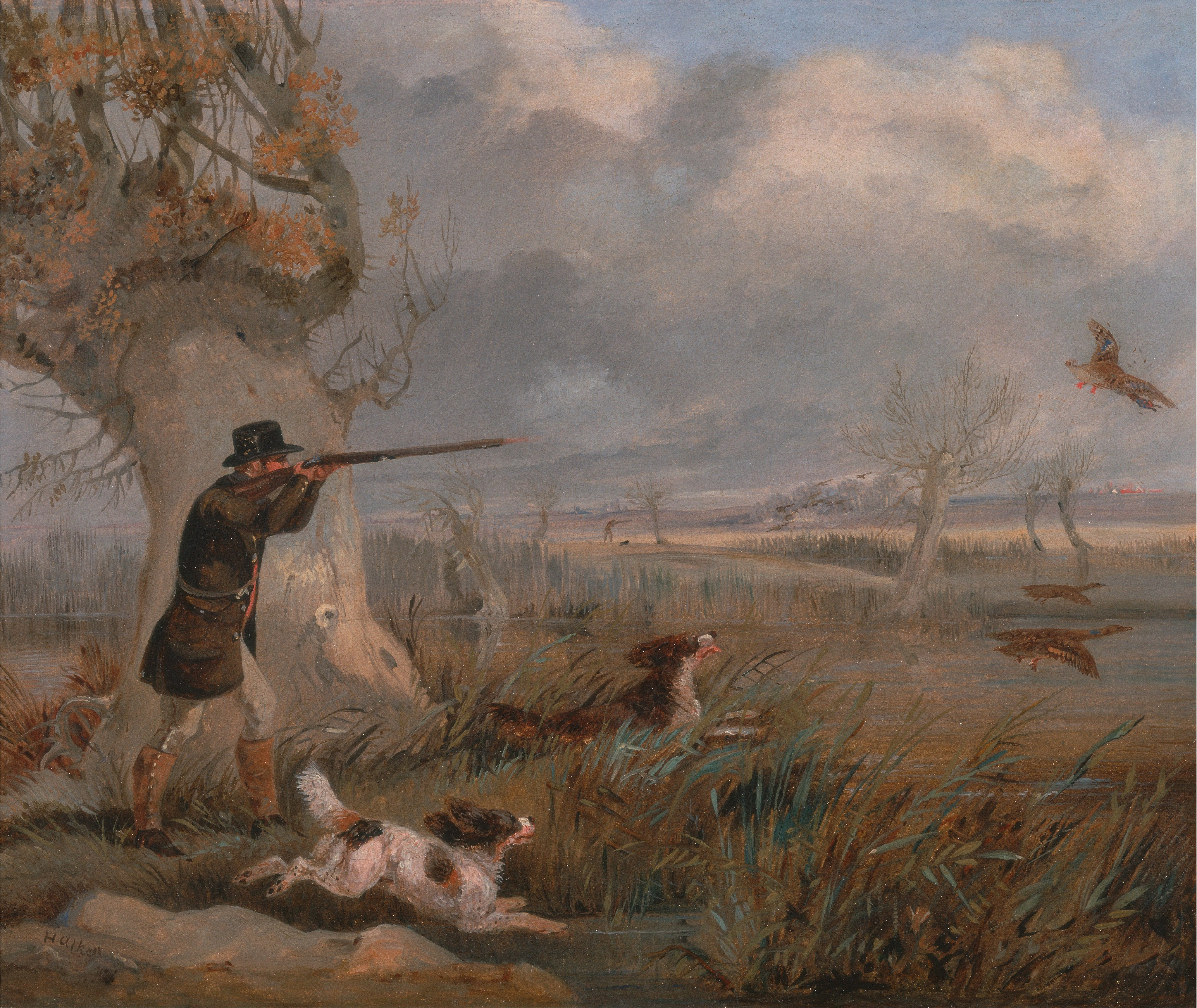 какое место занимала охота в 19 веке