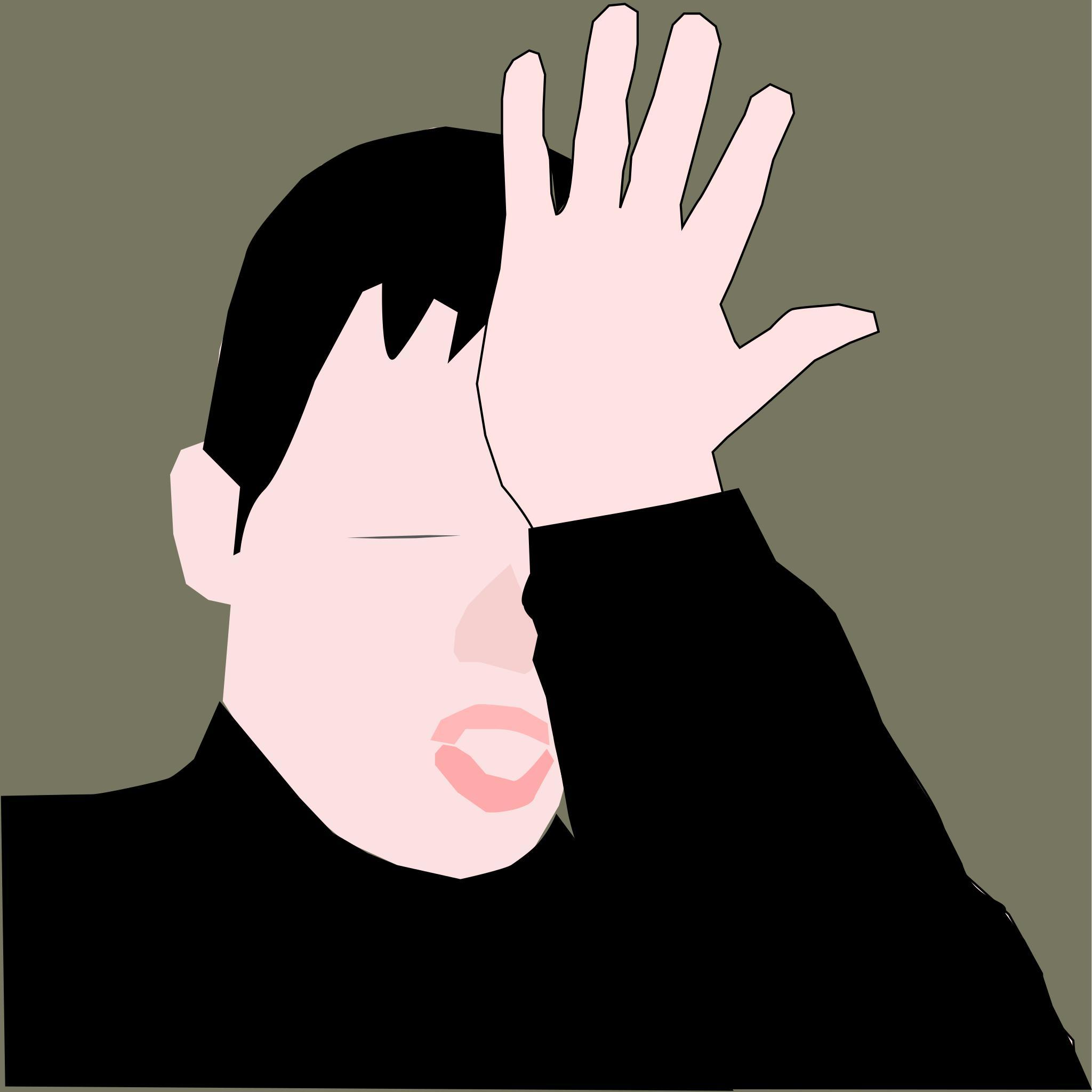 картинка стартрек лицо закрыто рукой причиной, вызывающей воспаление