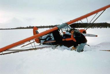 Digging an airplane out of the snow.jpg