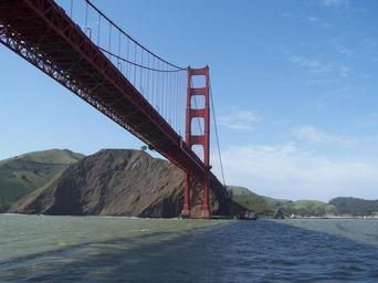 Golden gate bridge over water.jpg