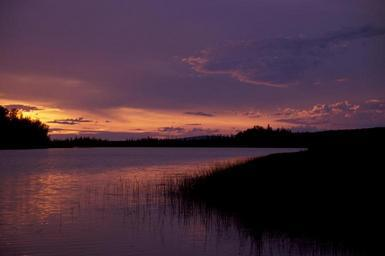 Sunset on the innoko national wildlife refuge.jpg