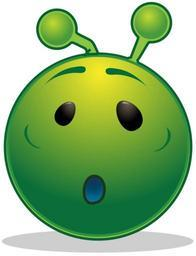 Smiley green alien o oh.svg